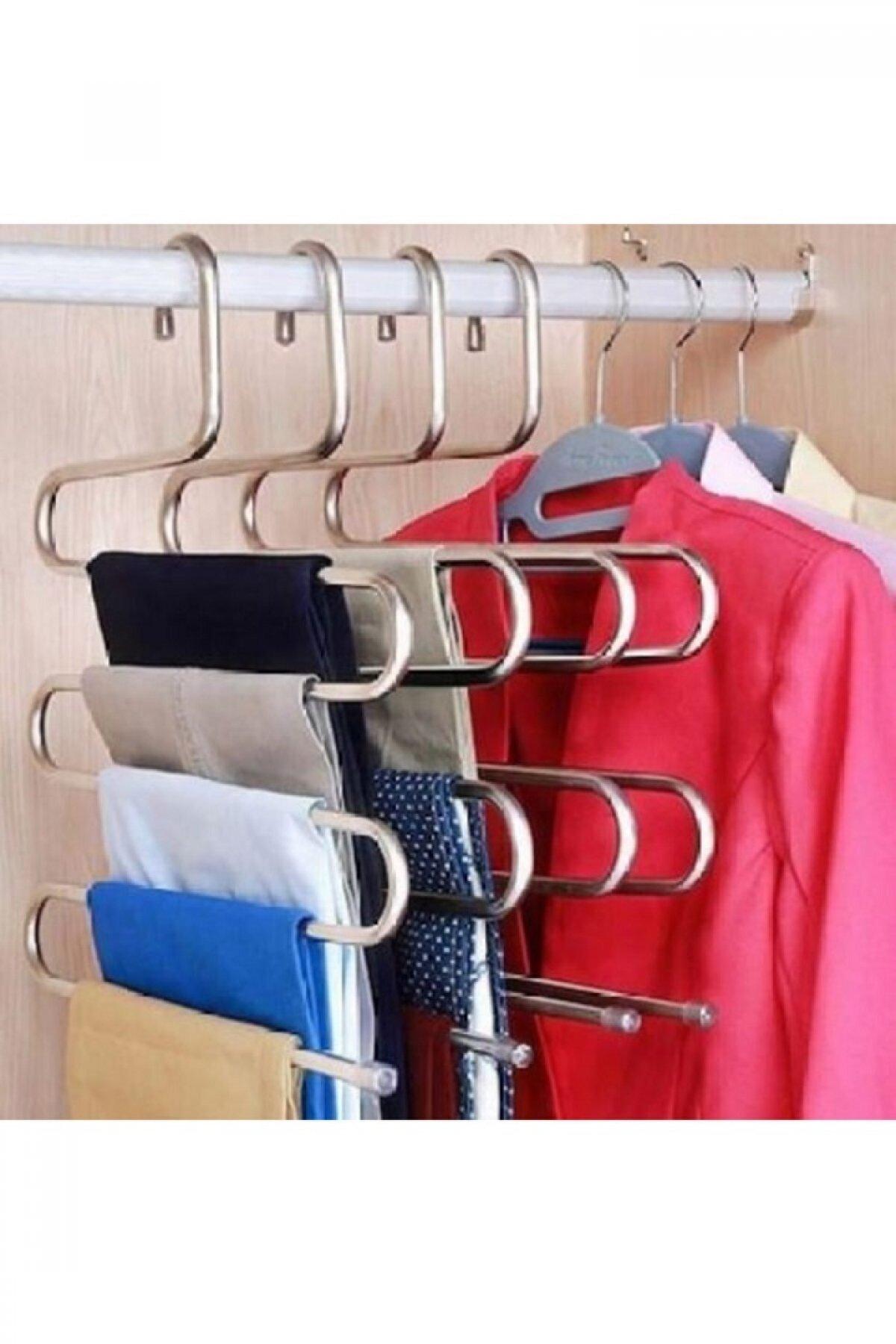 Evsimo Metal Pantalon Askısı