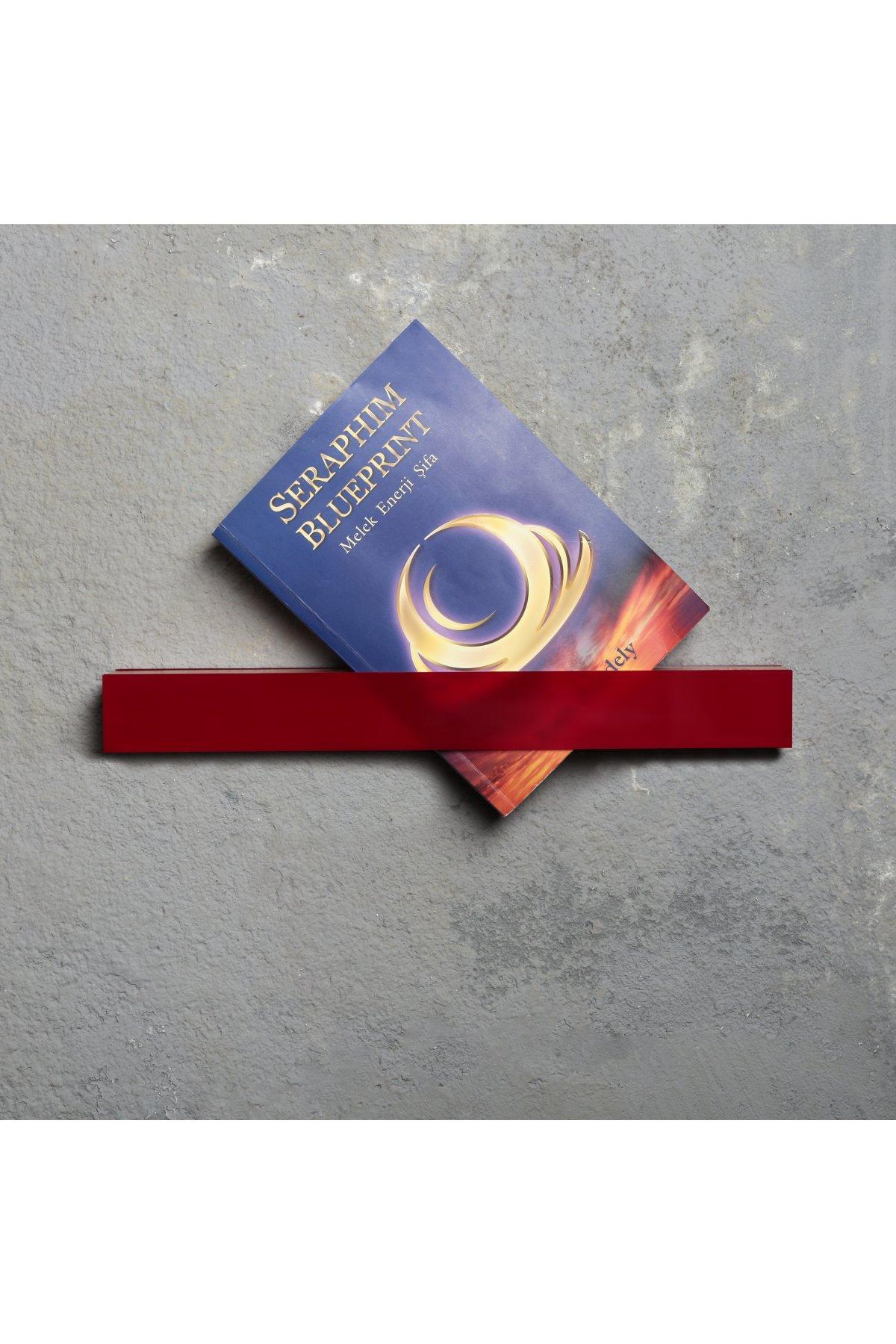 Evsimo Lınnına Kitap Tutucu Kırmızı