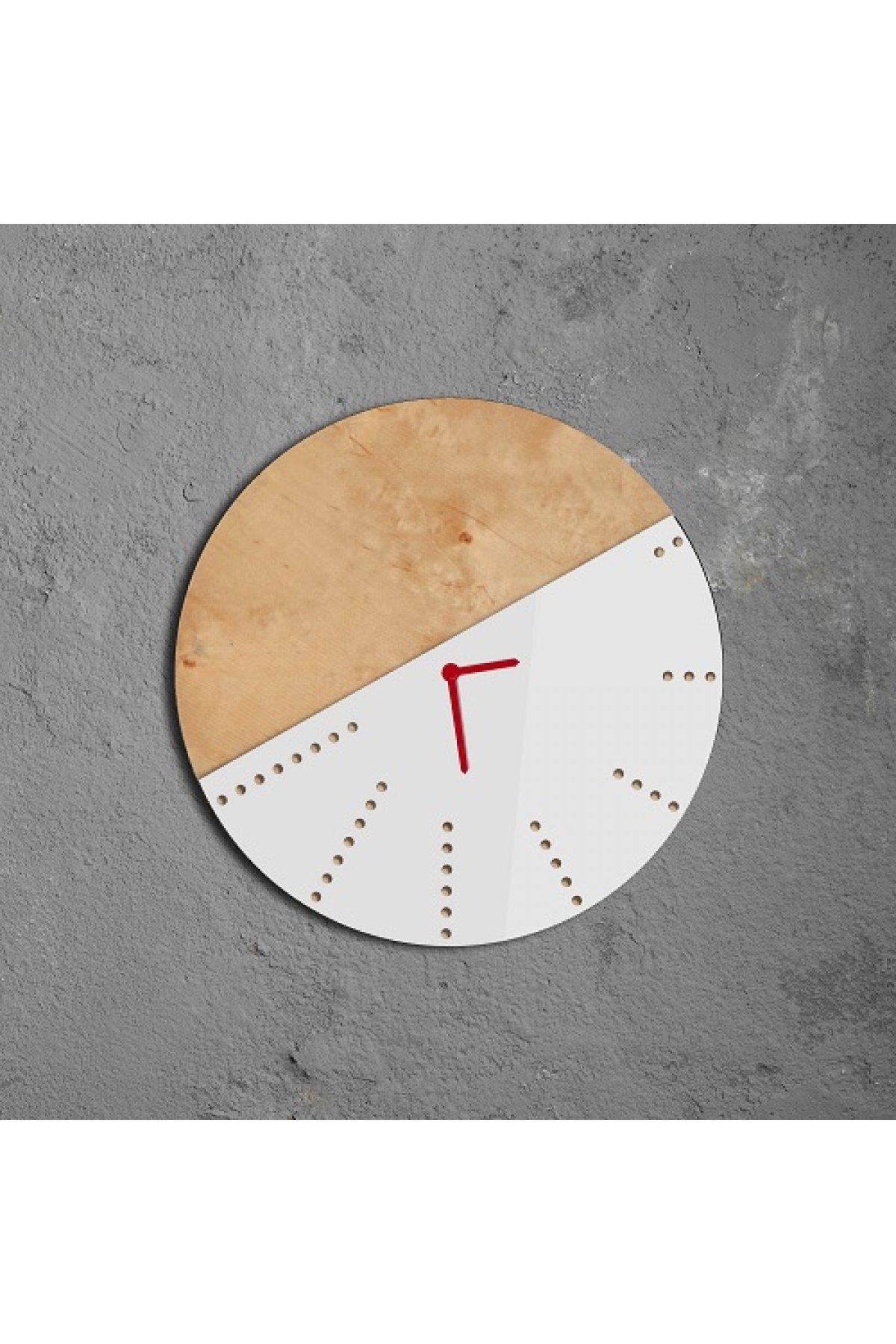 Evsimo Sunk Saat Beyaz