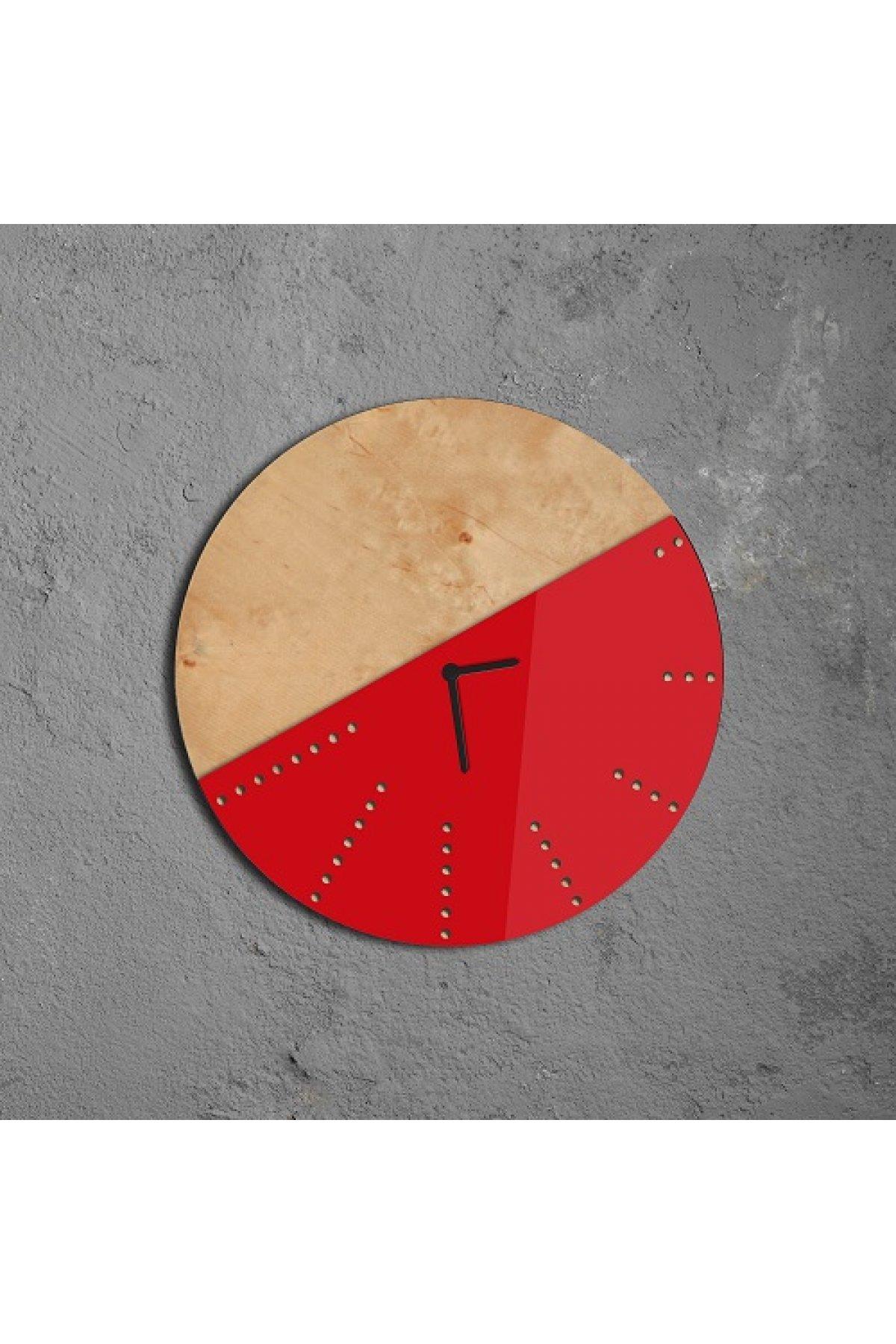 Evsimo Sunk Saat Kırmızı