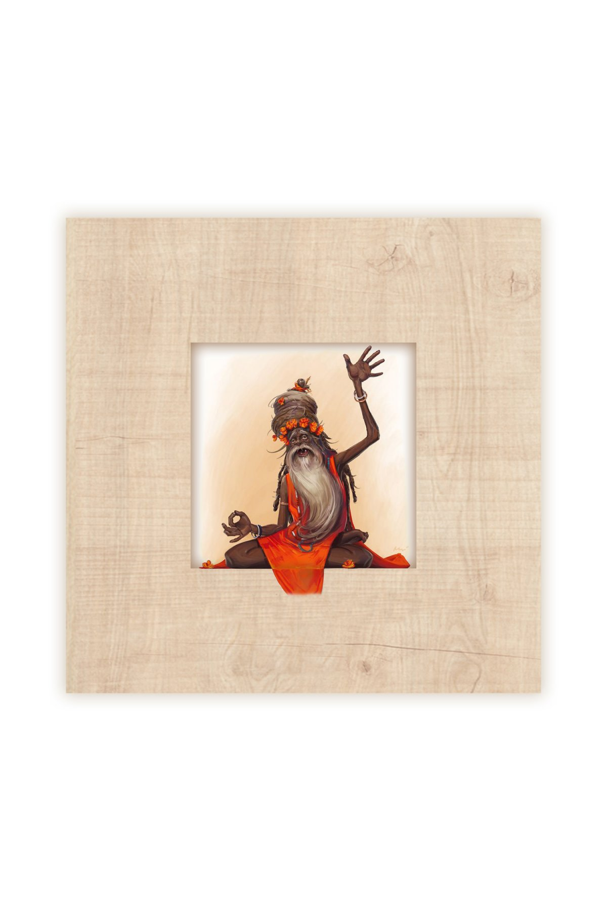 Evsimo Decorative Wooden Frame Hk -108
