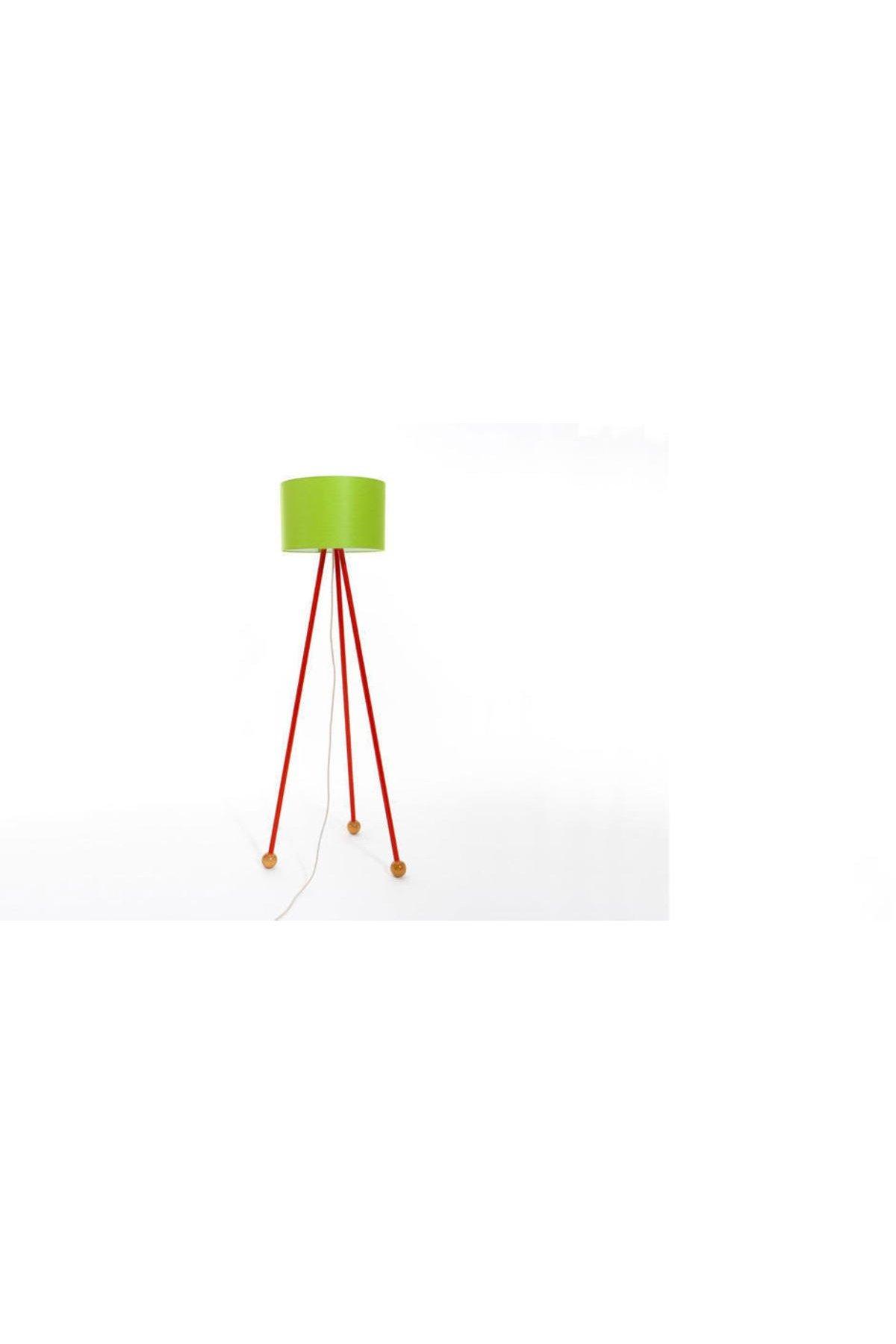 Morello Lambader Gövde Kırmızı  Silindir Şapka Yeşil
